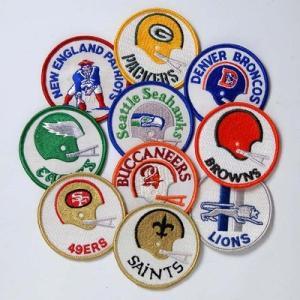 激安、NFL.アメリカンフットボール、ワッペン(新品10枚)