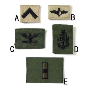 ミリタリーワッペン、US.ミリタリー襟章(新品)