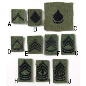 US.ミリタリー襟章(USED、ワッペン)