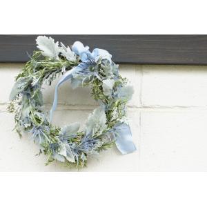 フレッシュローズマリー Silver Blue 「若返り」    花、ガーデニングリース  (44737|la-classe-online