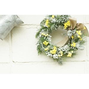 フレッシュティ―トゥリー Vitamine yellow 「元氣」       花、ガーデニングリース  (44737)|la-classe-online