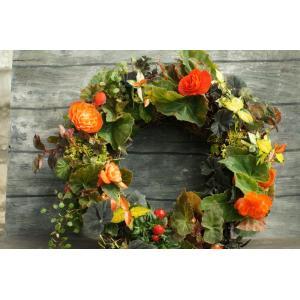Halloween Begonia  Wreath|la-classe-online