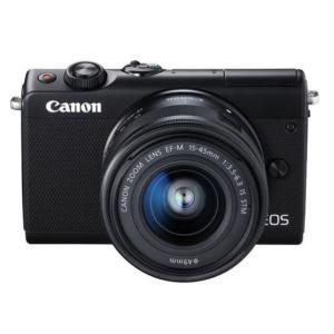 キャノン Canon 新品 EOS M100 EF-M15-45 IS STM レンズキット ブラッ...