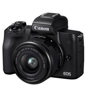 キャノン CANON 新品 EOS Kiss M EF-M15-45 IS STM レンズキット ブ...