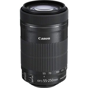 Canon 望遠ズームレンズ EF-S55-250mm F4-5.6 IS STM APS-C対応 ...