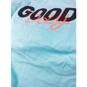 TURN ME ON /L/S TEE 『 GOOD DAY』 ロンT (BLUE) seagreen Lサイズ|la-grande-roue