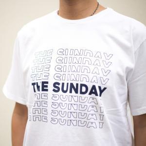 TURN ME ON /S/S TEE『THE SUNDAY』 (WHITE1) Lサイズ|la-grande-roue