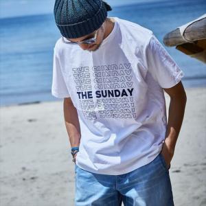 TURN ME ON /S/S TEE『THE SUNDAY』 (WHITE1) Mサイズ|la-grande-roue