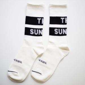 TURN ME ON /メイドインジャパン『THE SUNDAY』履き心地抜群ソックス 靴下 ホワイト|la-grande-roue