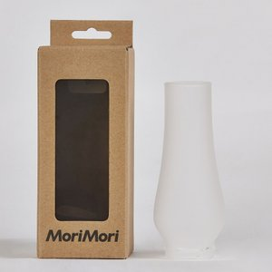 MoriMori 充電式 LED ランタンスピーカー 専用 無段階調節LEDライト 曇りガラス (フロストガラスグローブ)|la-grande-roue