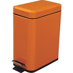 「カラー」オレンジ 「容量」5L 「サイズ」 W14xD23xH29cm 「本体素材」 スチール(粉...