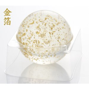 京都 ぷるん石鹸 金箔 ピュアソープ ヒアルロン酸 コラーゲン