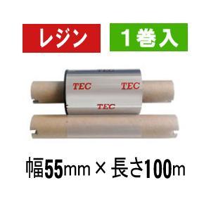 [レジンタイプ] テック純正インクリボン BR-1005A21 1箱(1巻入り)|label-estore