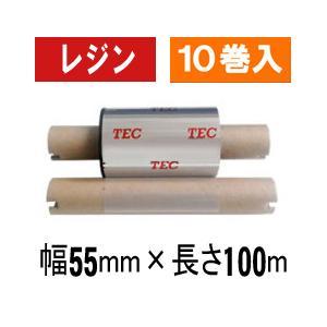 [レジンタイプ] テック純正インクリボン BR-1005A21 1箱(10巻入り)|label-estore