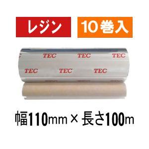 [レジンタイプ] テック純正インクリボン BR-1011A21 1箱(10巻入り)|label-estore
