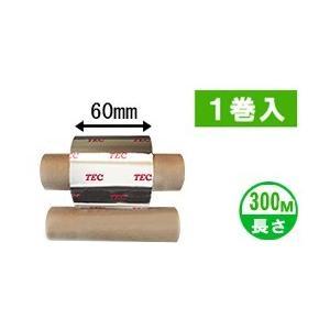[ワックスタイプ] テック純正インクリボン BR-3006W10E 1箱(1巻入り) label-estore