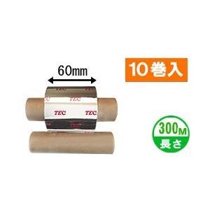[ワックスタイプ] テック純正インクリボン BR-3006W10E 1箱(10巻入り) label-estore