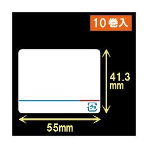 東芝テック(株) 計量用サーマルラベル(55mm×41.3mm)1巻当り4900枚 1箱10巻入り label-estore