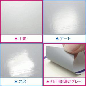 ラベルシール A4 3面 シール 訂正用上質紙 500枚|label-seal|03