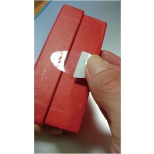 透明シールラベル・楕円35×18 封かん,ラッピングなどの用途に/1袋500枚入/指紋が付かない透明止めシール|label-store|03