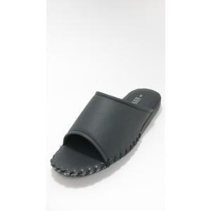Pansy パンジー 私の部屋履き メンズ 室内履きサンダル スリッパ  8100 ブラック