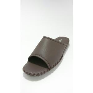 Pansy パンジー 私の部屋履き メンズ 室内履きサンダル スリッパ  8100 ブラウン