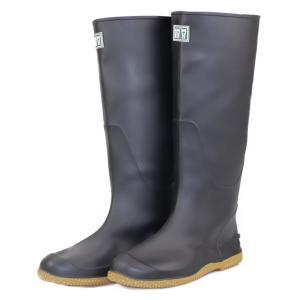 ミツウマ 長靴 レディース メンズ レインブーツ  パッカブル ガーデニング 田植 農作業  ベールノース7030 クロ|laber