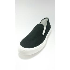 ムーンスター レディース スリッポンタイプ スニーカー 靴 運動靴 シューズ ベンチャースニーカー15 ブラック|laber