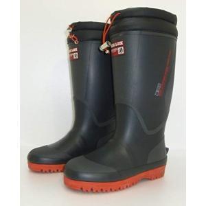弘進ゴム メンズ 防寒長靴 レインブーツ 軽量 寒冷地 冬仕様 シーラックスライト557 ブラック