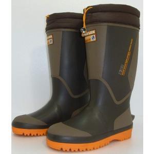 弘進ゴム メンズ 防寒長靴 レインブーツ 軽量 寒冷地 冬仕様 シーラックスライト557 ブラウン