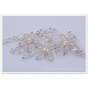 キラキラ輝くビジューのワイヤーヘッドドレス(オルガ)/ウエディング/ブライダル/ヘアアクセサリー/花嫁/結婚式/花嫁/リボンカチューシャ|labolero|05
