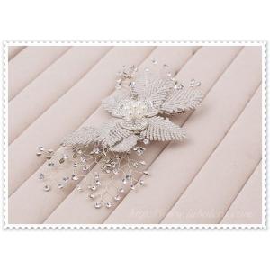 キラキラ輝くビジューのヘッドドレス (リリアーナ)/ウエディング/ブライダル/ヘアアクセサリー/花嫁/結婚式/花嫁|labolero|05