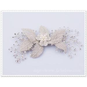 キラキラ輝くビジューのヘッドドレス (リリアーナ)/ウエディング/ブライダル/ヘアアクセサリー/花嫁/結婚式/花嫁|labolero|06