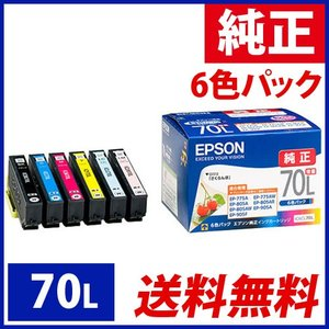 インクカートリッジIC6CL70L(6色セット...の関連商品9