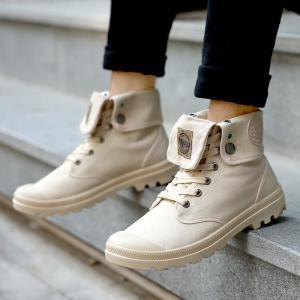 ブーツ メンズ ショートブーツ ハイカット ミリタリーブーツ メンズ ワークブーツ メンズ靴 レース...