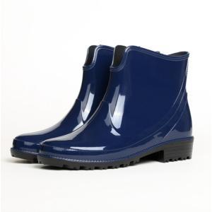 レインブーツ レディース おしゃれ レインブーツ ショート 大きいサイズ レインシューズ 雨靴 ガーデニングブーツ 長靴|labu