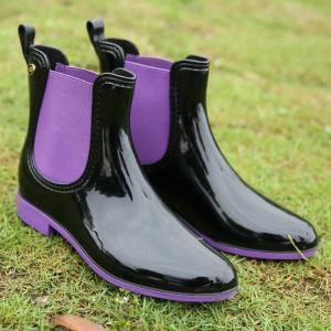レインブーツ レディース おしゃれ レインブーツ ショート 大きいサイズ レインシューズ 雨靴 ガーデニングブーツ 長靴 labu