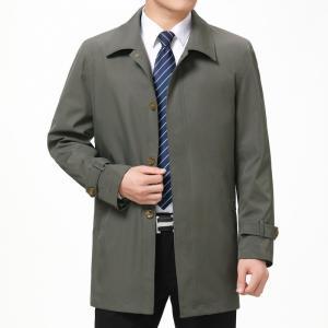 ステンカラーコート メンズ ビジネス コート アウター ショート スプリングコート トレンチコート ...