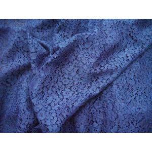 ★NEW★【藍色の小花柄】 50cm単位販売 青・ブルー系 日本製 No.82432|lace