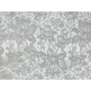 レース 生地 No.82513 レース【ボーダー柄】 50cm単位販売 2色(ライトグレー、ブラック)|lace