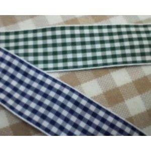 チェックリボン(2.4cm巾) laceya