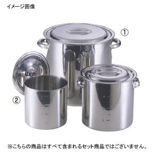 モリブデン 寸胴鍋 / キッチンポット パイプハンドル 42cm lachance