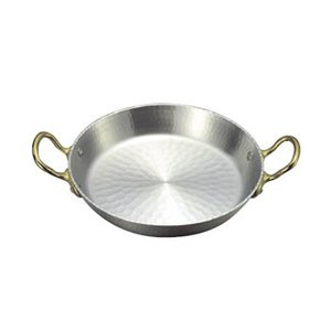 パエリア鍋 両手 アルミ 21cm|lachance
