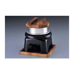 釜飯カマド セット 煮こぼれフード付 黒|lachance