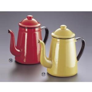 コーヒーポット #13 キャメル ホーロー キリン印 1.6L (リットル)|lachance