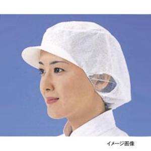 エレクト・ネット帽 EL-402W L ホワイト (20枚入)|lachance