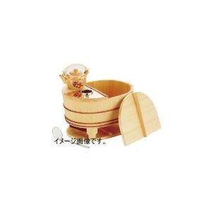ヤマコー 椹・小判型湯豆腐セット 3人用 豆腐すくい・汁次付き 23105 lachance