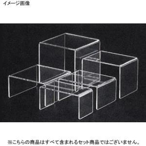 アクリルディスプレイ コの字展示台 中(30637) lachance