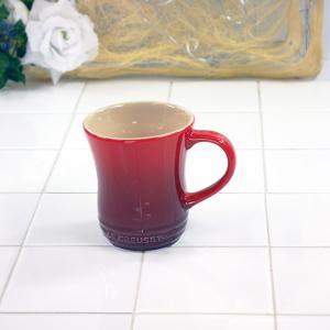 ル・クルーゼ(Le Creuset) マグカップ (S) チェリーレッド 910072-01(日本正規販売品)|lachance