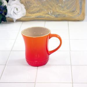 ル・クルーゼ(Le Creuset) マグカップ (S) オレンジ 910072-01(日本正規販売品)|lachance
